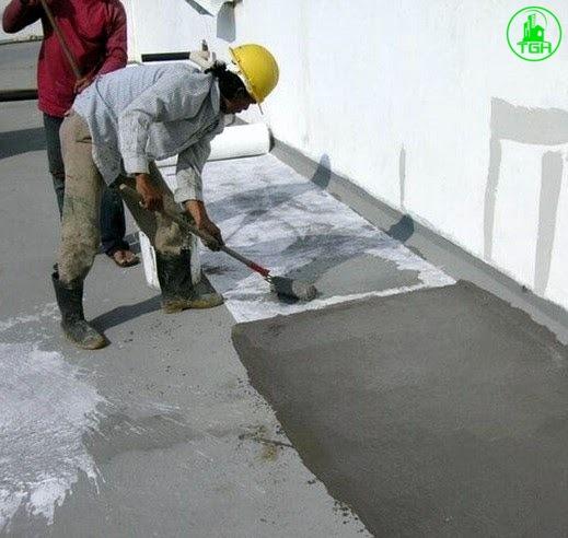 chống thấm sàn tường nhà vệ sinh bằng lưới thủy tinh