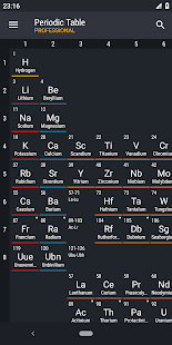 Periodic Table 2019 PRO Screenshot