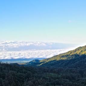 single mountain by Wibi Prayogo - Landscapes Mountains & Hills