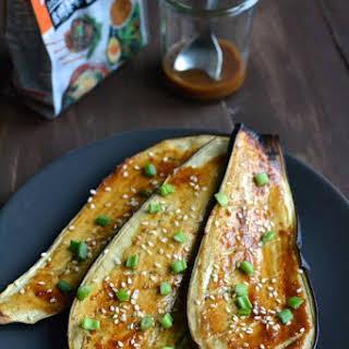 Japanese Miso Eggplant.
