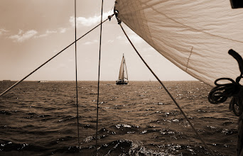 Photo: Framed in Our Lines | Sailing on the Chesapeake Bay © 2009 Ryan Lynham  (Get the print at society6.com/ryanlynham)