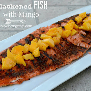 Blackened Fish with Mango {Recipe}.