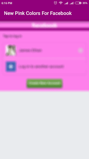 New Pink Colour For Facebook 1.0 screenshots 2