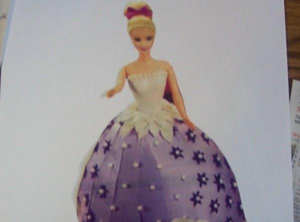 Barbie Doll Cake Recipe