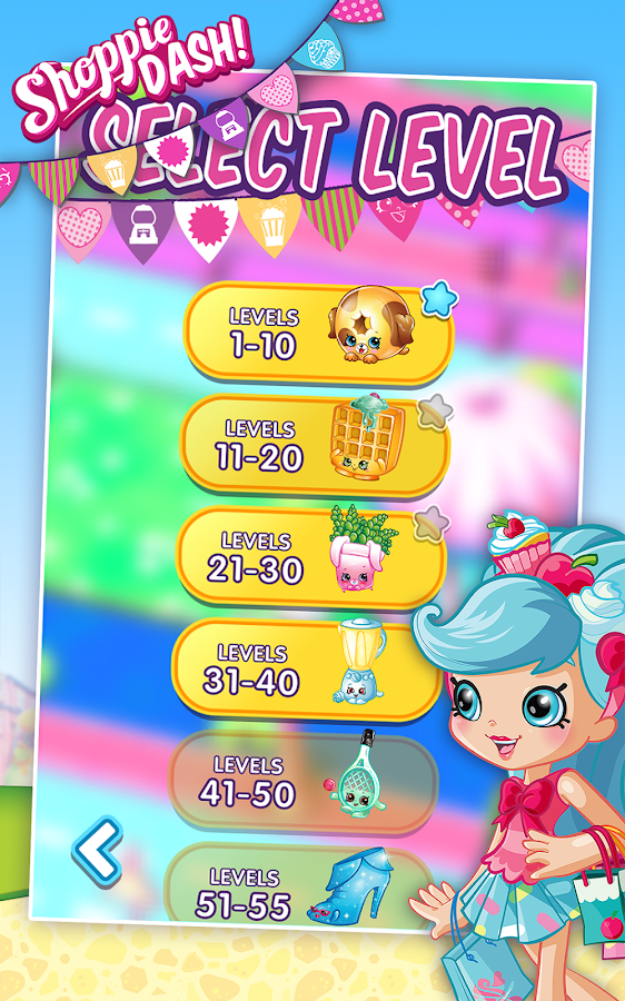 Shopkins: Shoppie Dash!- screenshot