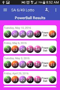 lotto results sa