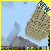 New York mini Minecraft map