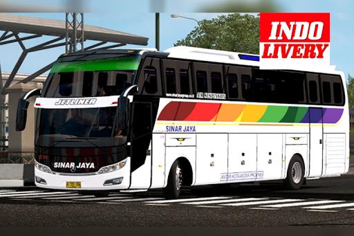 Livery BUSSID Sinar Jaya Simulator for PC
