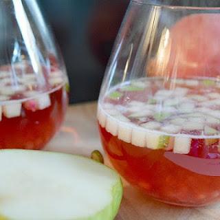 Cranberry Pomegranate Spritzers