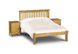 Traditional Solid Pine Shaker style Bedstead in Antique Pine