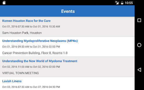MD Anderson Mobile- screenshot thumbnail