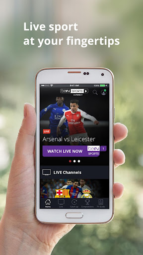 beIN SPORTS CONNECT 1.2.4 screenshots 1