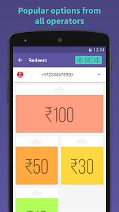 Simkarma Free Mobile Recharge- screenshot thumbnail