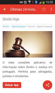 Notícias do Android Ekran Görüntüsü