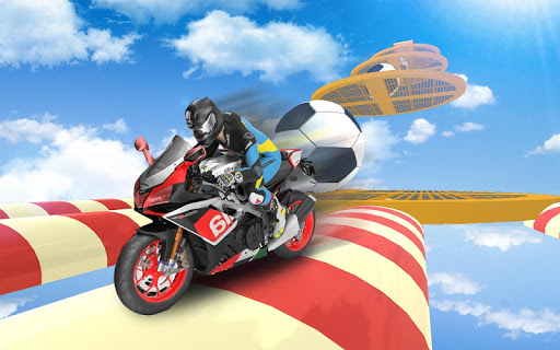 Bike Impossible Tracks Race: 3D Motorcycle Stunts 2.0.1 screenshots 2