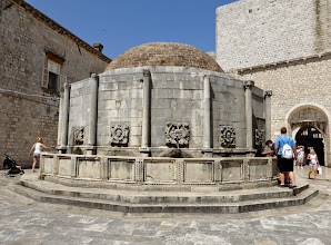Photo: The Onophiran Fountain supplied fresh drinking water from Roman times to the present day. It's just inside the main entrance (the Pile Gate).
