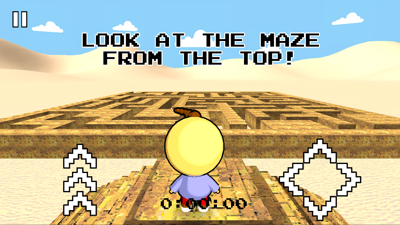 Screenshots of 3D Maze Retro for iPhone