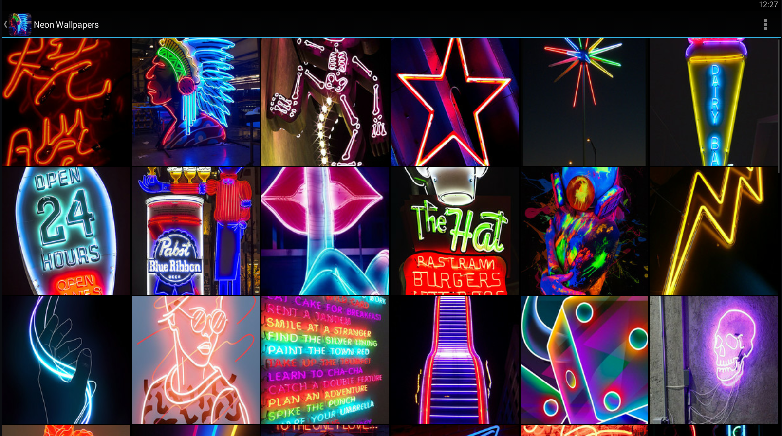 Neon Wallpapers Android Apps on Google Play