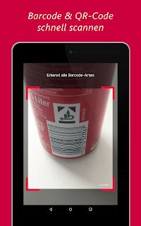 barcoo QR Code Barcode Scanner screenshot 14