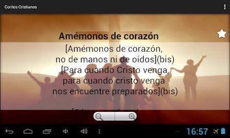 Coritos Cristianos 1.3 screenshot 2088791