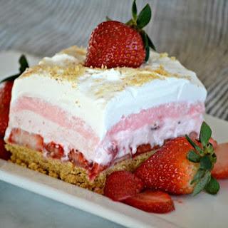 Strawberry Cheesecake Dream Bars.