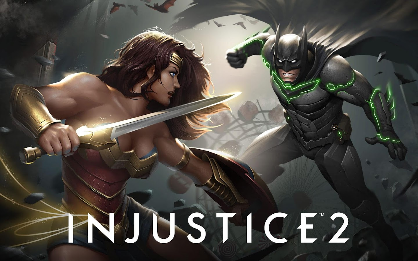 Injustice 2: captura de tela