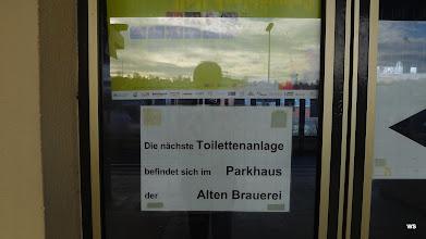 Photo: Bahnhof Schwäbisch Hall / WC-Anlage in ca. 500 m Entfernung