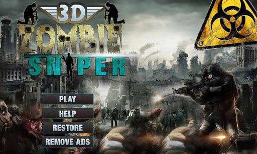 Zombie Sniper Shooting: 3D  screenshots 3