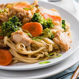 Shacha Chicken Chow Mein