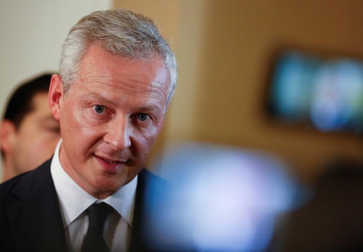 Bruno le Maire. Picture: REUTERS
