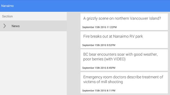 Nanaimo News - náhled