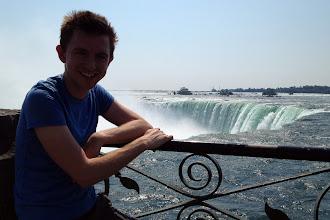 Photo: Brock at Niagara Falls