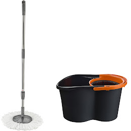 Mop rotativ cu galeata 16 litri cu functie de stoarcere
