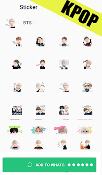 Download Bts Stickers For Whatsapp Wastickerapps Korean Apk Latest