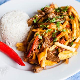 Lomo Saltado (Peruvian Stir-Fry)
