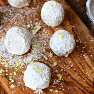 No Bake Lemon Drop Cookies