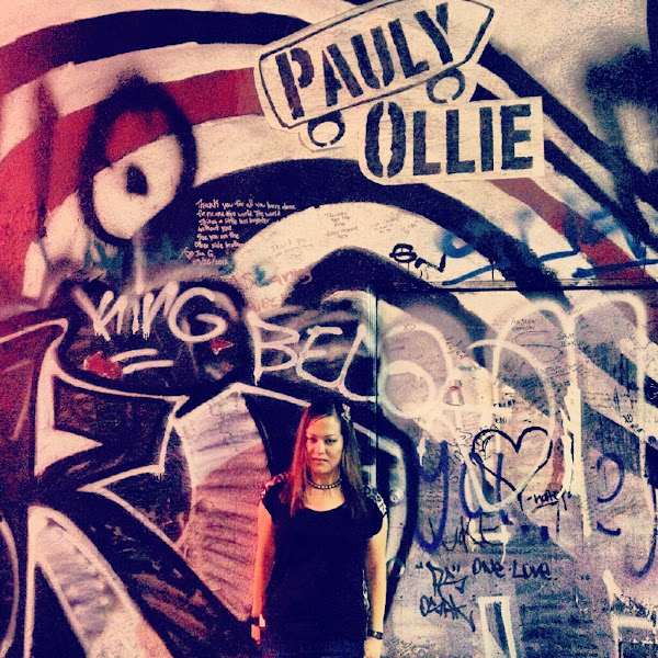 Photo: In front of the Figure 8 (Elliott Smith) mural in Silver Lake, Los Angeles, CA.