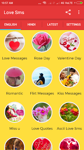 Love Sms Messages 2019 by smartZone (Google Play, United