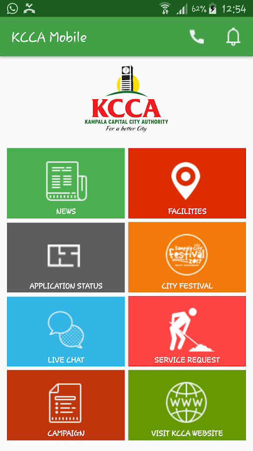 KCCA Mobile UG- screenshot
