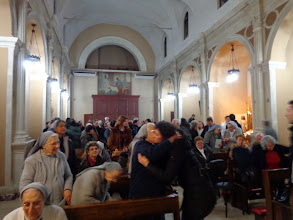 Photo: Ecumenical prayer for peace 29th December 2012