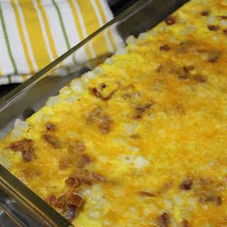 Bacon Breakfast Casserole.