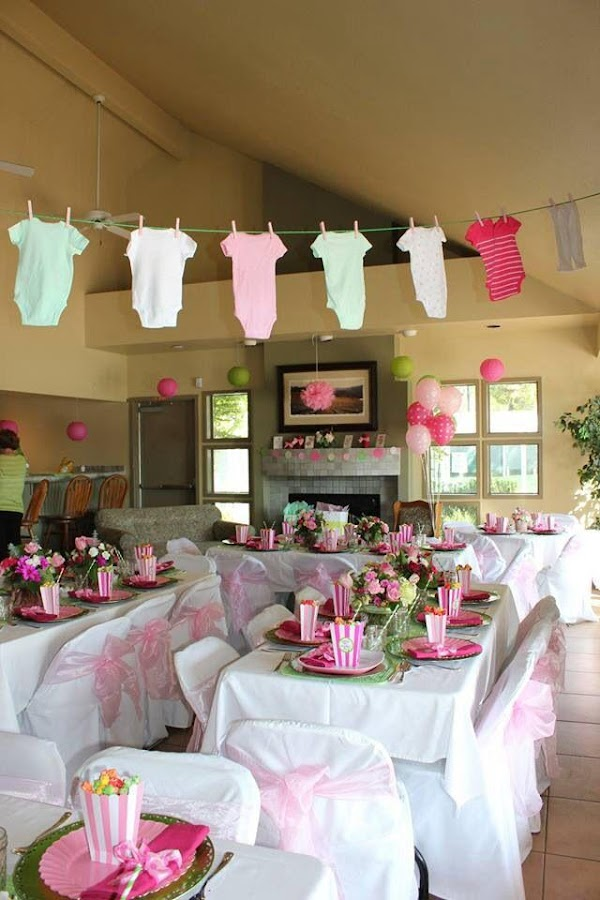 Baby Shower Decorations Screenshot