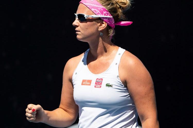 Ysaline Bonaventure kent in Praag geen moeite met Britse in de eerste ronde