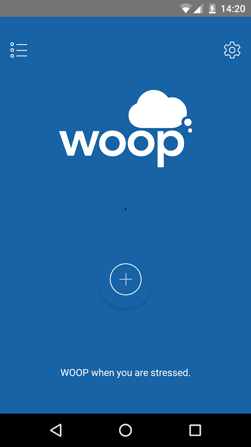 WOOP app- screenshot