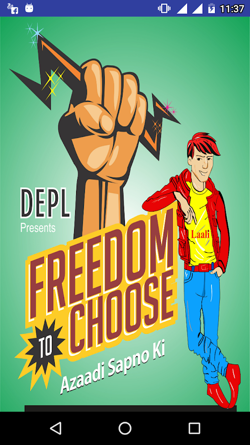 Freedom2Choose- screenshot