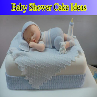 Baby shower cake ideas - náhled