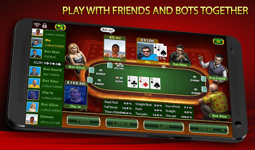 Texas Holdem Poker: Pokerbot apkmind screenshots 4