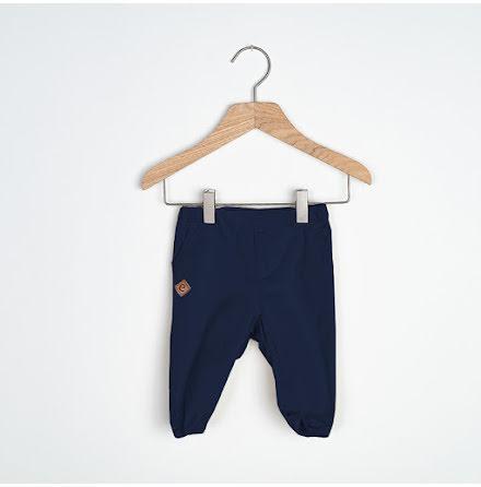 Sammie - Marinblå chinos till baby