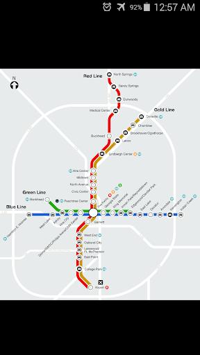 Atlanta Metro Map