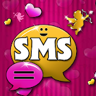 lovely Pink Theme GO SMS Pro icon